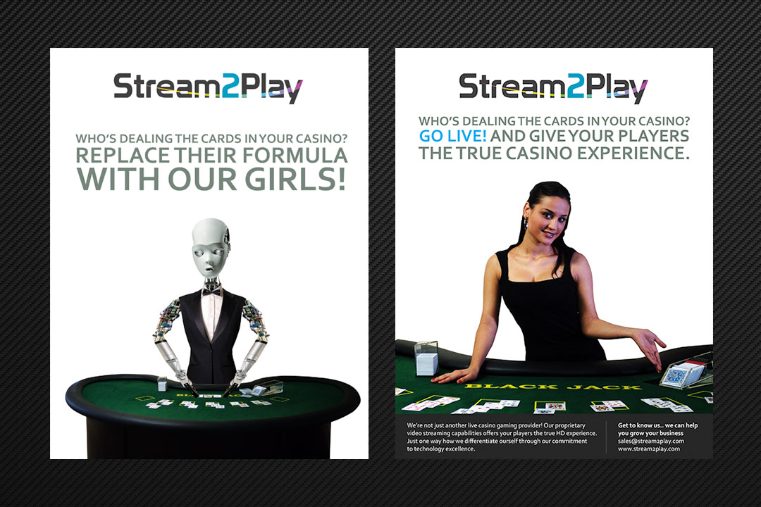 Stream2Play Magazine Ads