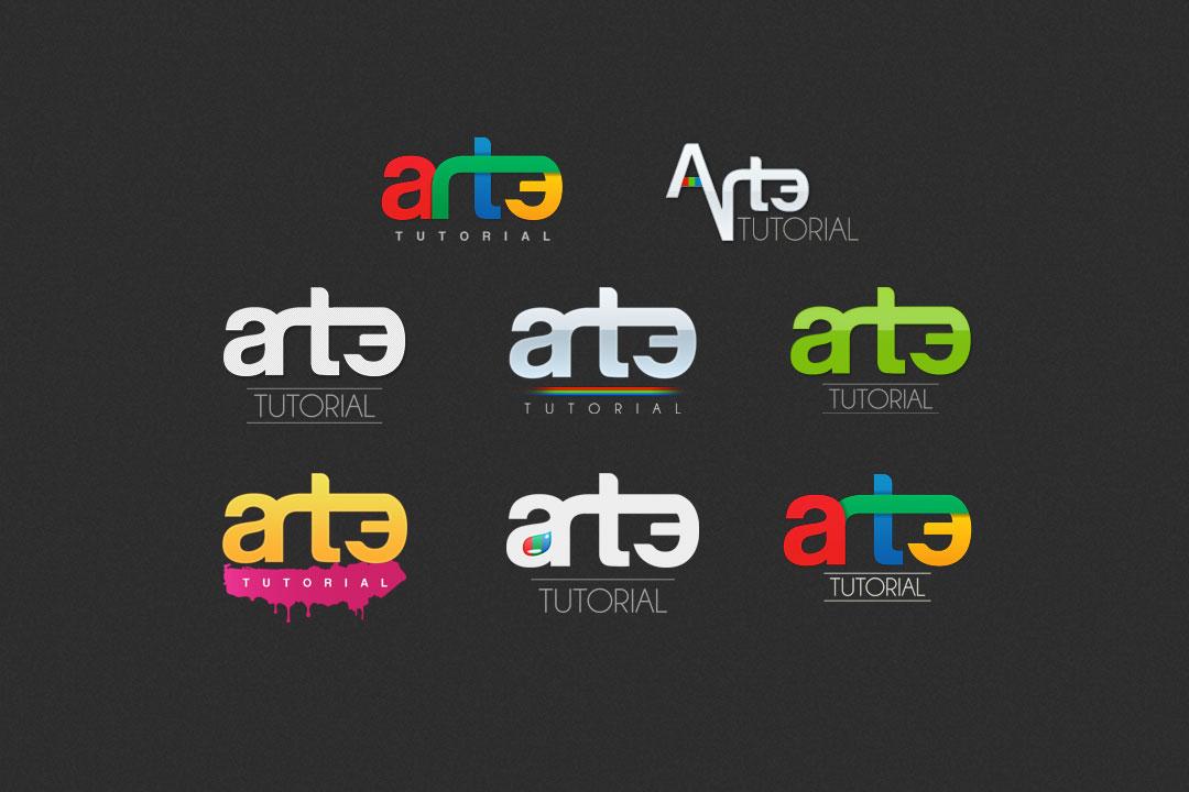 Arte Tutorial Logo Proposals